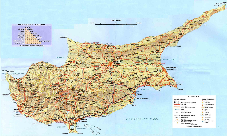 Mapa Cypr Cypr Kraj Na Mapie Swiata Europa Poludniowa Europa